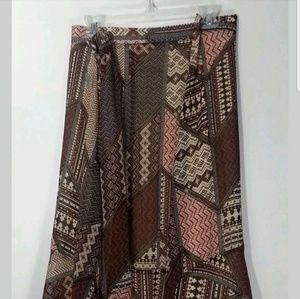 Catherines pull on skirt nwt size 5x